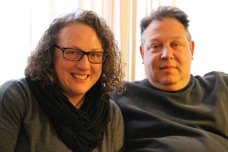 Flint residents Laura and Sean MacIntyre stopped paying their water bills in 2016.