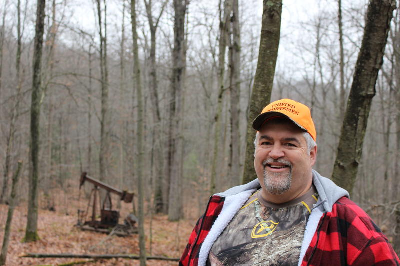 Randy Santucci hunts in Pennsylvania.