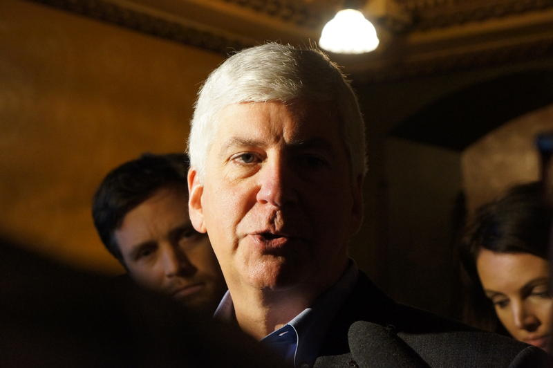 Governor Rick Snyder says it's not the job of state and local law enforcement to enforce federal immigration laws.