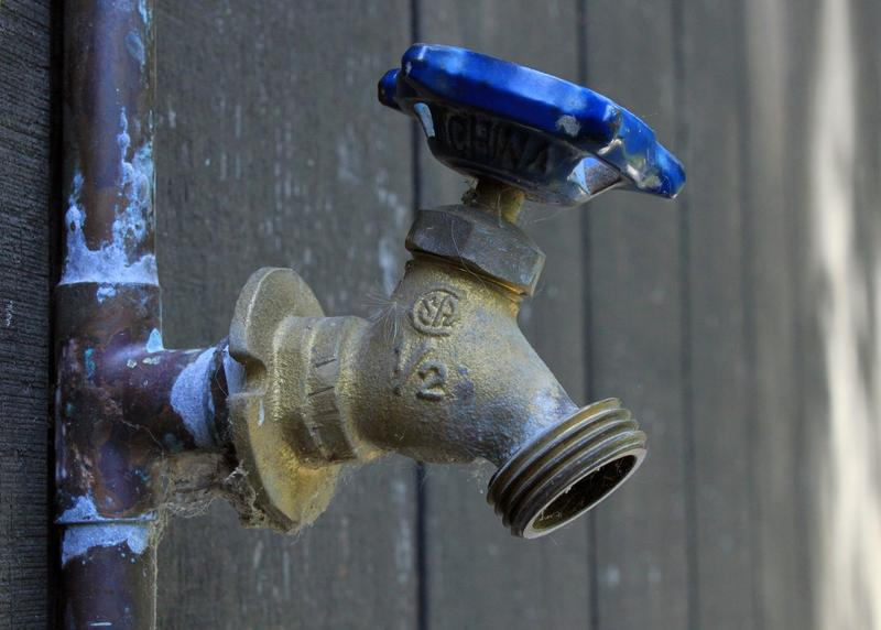 Brass fittings and faucets not used for drinking water can have lead in them. The EPA wants the parts to stamped so people can easily tell the difference.