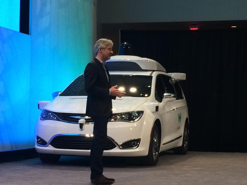Waymo CEO John Krafcik at 2017 NAIAS