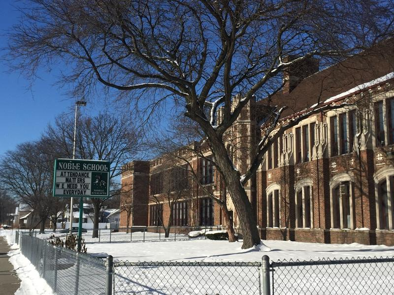 Noble Elementary, a Detroit school that was placed on the state's priority list in 2015