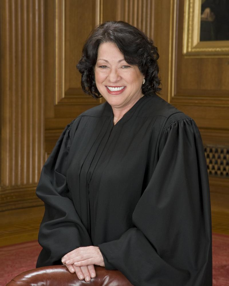 U.S. Supreme Court Justice Sonia Sotomayor is the first Latina to serve the Supreme Court.