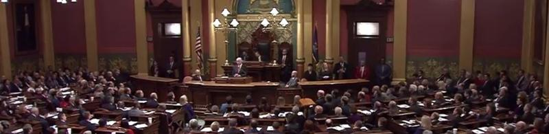 Gov. Snyder delivers his 2017 State of the State address.