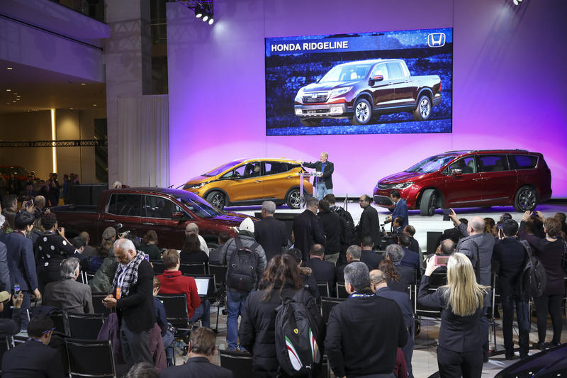 The Car, Utility and Truck of the Year at the 2017 NAIAS.