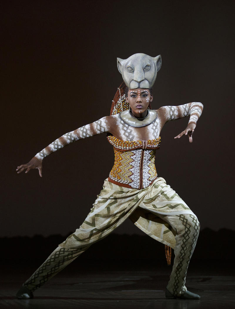 "Nia Holloway as ""Nala"" and ""The Lionesses"" in THE LION KING North American Tour."