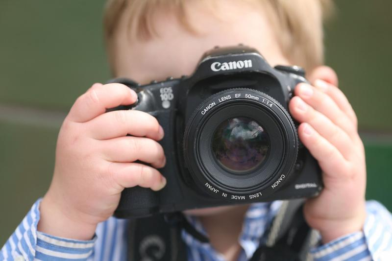 Photo albums are no longer the most popular way to share photos of children.
