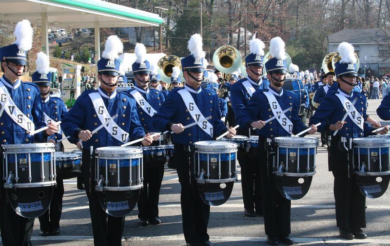 Grand Valley State University drumline