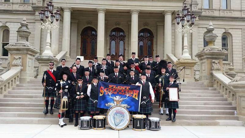 Flint Scottish honored at the State Capital