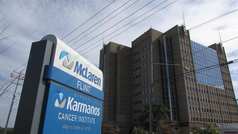 McLaren Hospital in Flint.