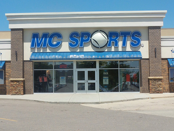 MC Sports has 22 locations in Michigan, including Ann Arbor, Kalamazoo, and Traverse City.