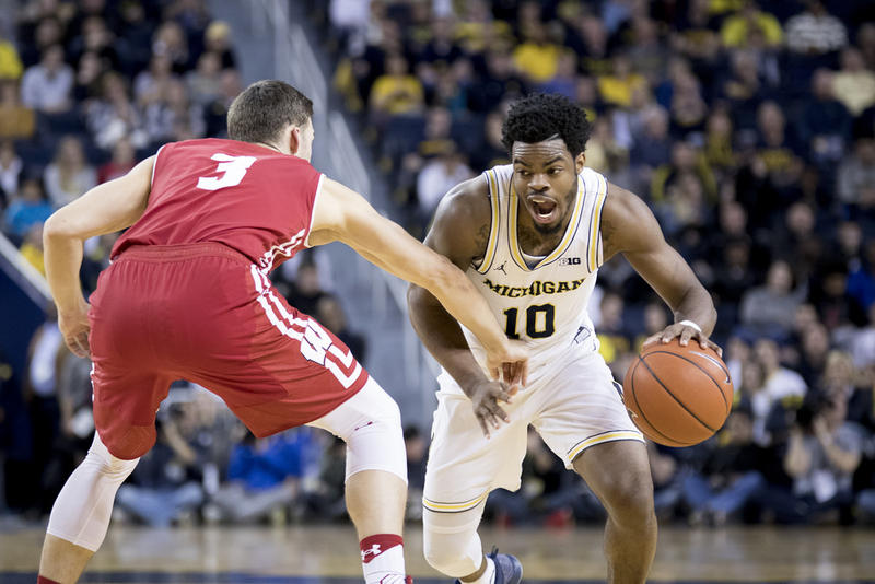 Derrick Walton Jr.'s Wolverines beat Wisconsin last night.