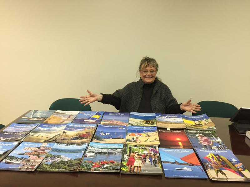 Felicia Fairchild and her 21 years of Saugatuck Visitors Guides
