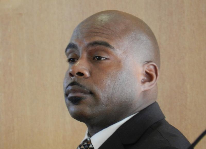Flint city councilman Wantwaz Davis.