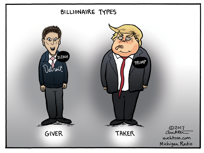 Auchter's Art: Billionaire Types