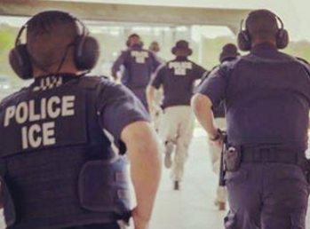 U.S. Immigration and Customs Enforcement officers