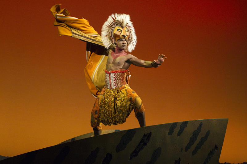 "Dashaun Young as ""Simba"" in THE LION KING North American Tour."