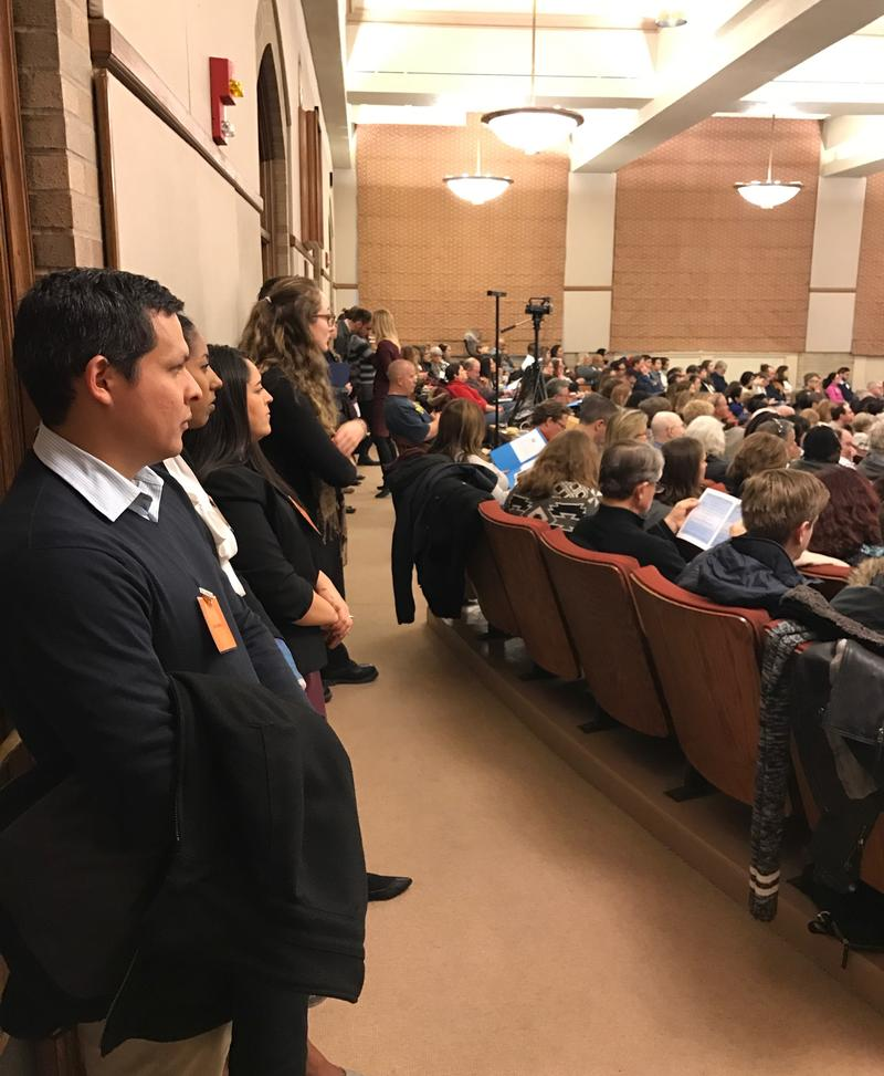 Lawyers filled UM's Hutchins Hall to standing-room-only for the ACLU lawyers summit Saturday