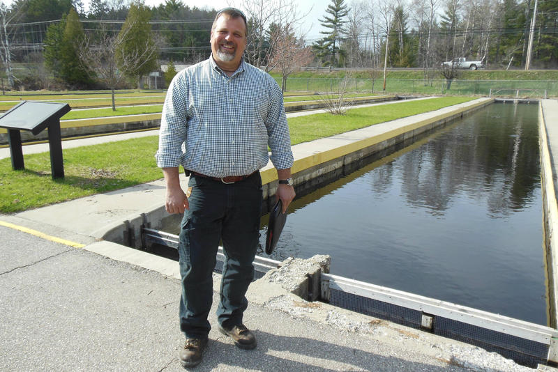Harrietta Hills Trout Farms co-owner Dan Vogler wants to produce up to 300,000 pounds of trout at the historic Grayling Fish Hatchery.