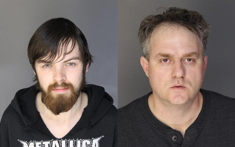 James Craig Baker (r), a 24 yr. old Leonard resident. And Brandon Vreeland (l), a 40 yr. old Jackson resident are facing felony charges, including carrying a concealed weapon, resisting arrest, and disturbing the peace.