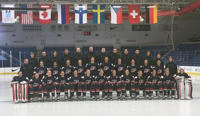 Team USA is getting ready to face Canada tomorrow to open the 2017 Women's World Championship.