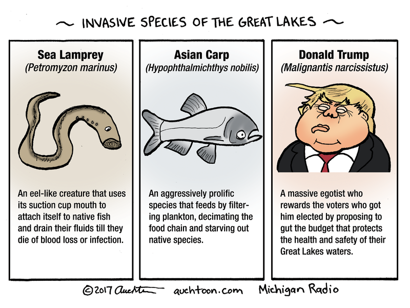 Auchters Art Threats To The Great Lakes