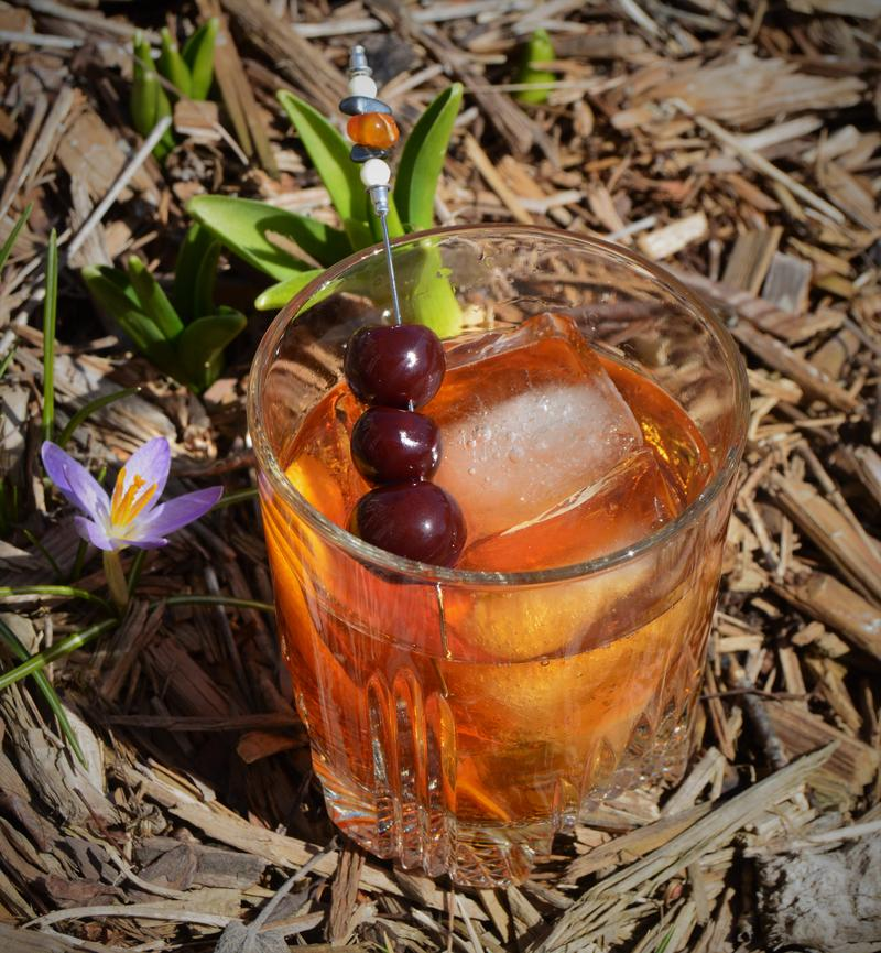 The (Old Fashioned) cocktail.