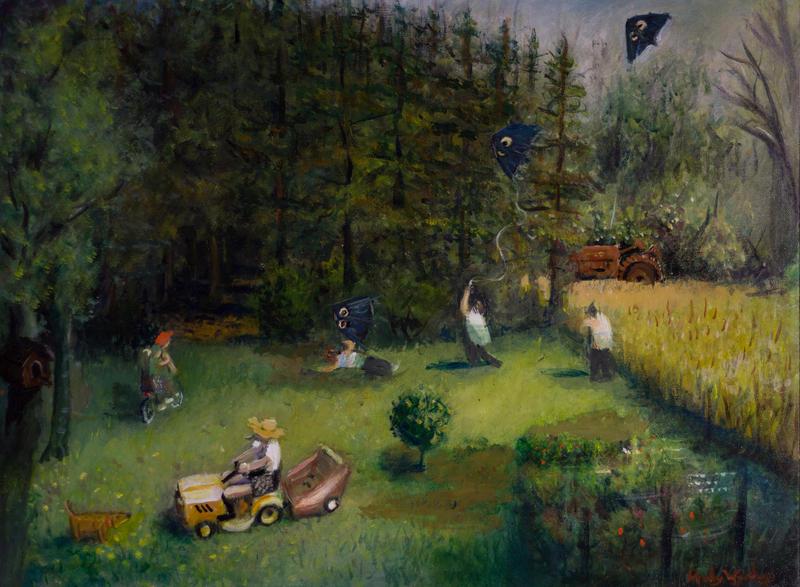 """Karl Dobel's Back Yard"" by Andy Wynkoop"