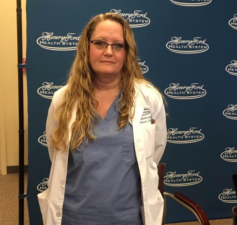 Patti Kunkel, a Canadian nurse practitioner in Henry Ford Hospital's cardiac intensive care unit, worries that her TN visa may not be renewed.