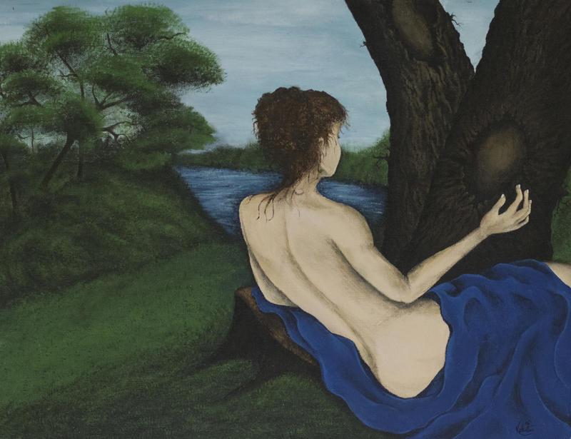 """Primary Blues"" by Karmyn Valentine"