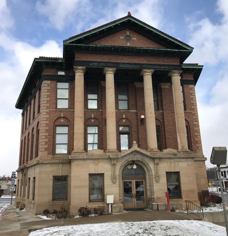 Hillsdale City Hall hosted the town hall Friday.