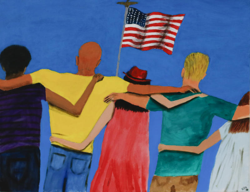 """United We Stand"" by Kiko"