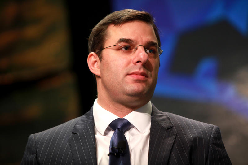 Congressman Justin Amash's response during a Twitter showdown last weekend has been called into question by a watchdog group.