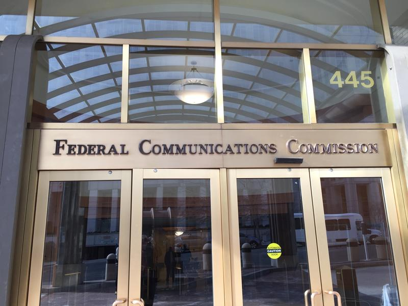 building that says federal communications commission