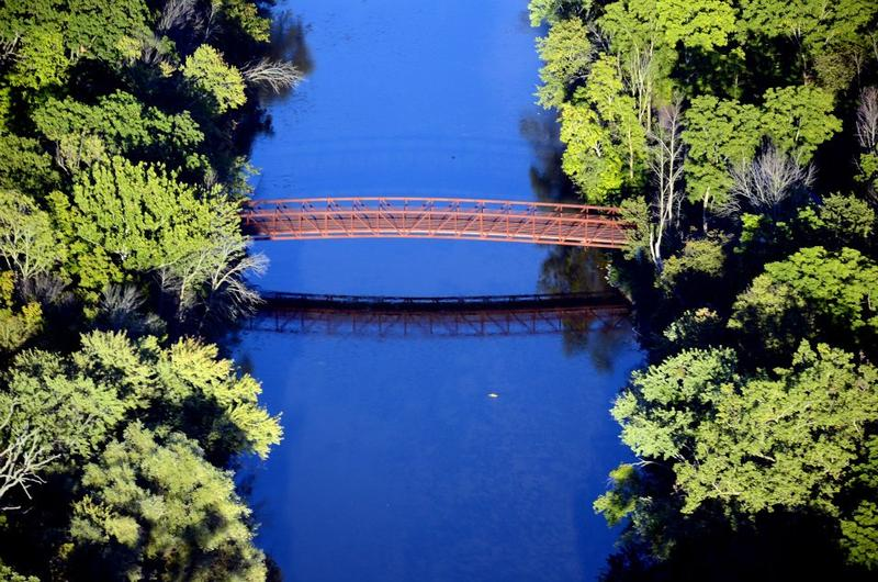 The Flint River is 142 miles long and flows through five counties.