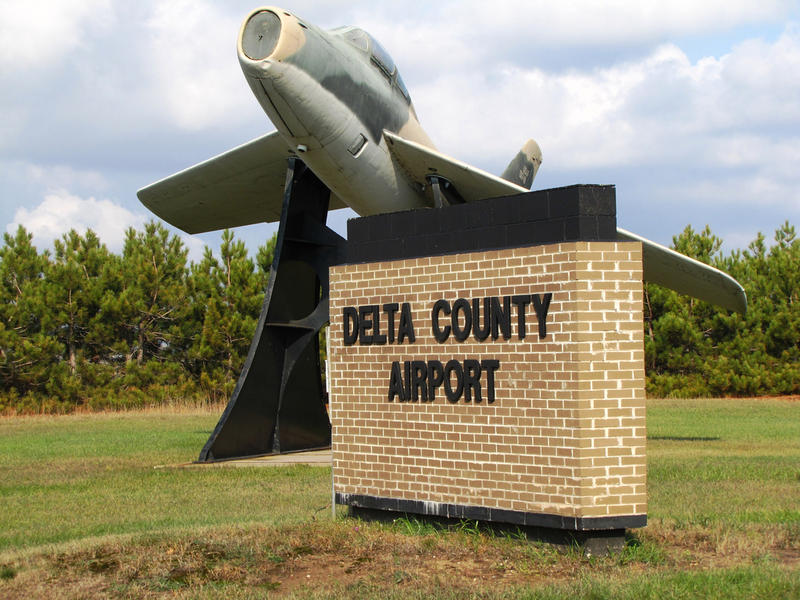 Delta County Airport near Escanaba is one of the nine rural airports in Michigan that are subsidized by the Essential Air Service.