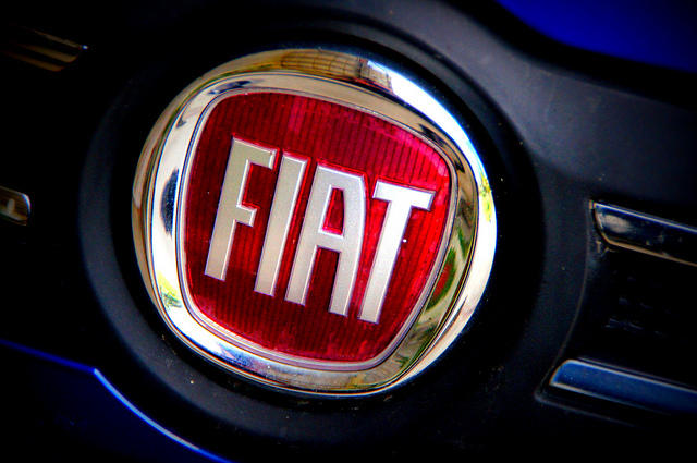Fiat ensignia on a vehicle