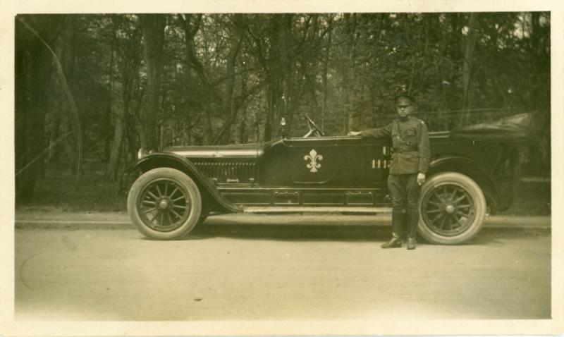 President Woodrow Wilson's car.
