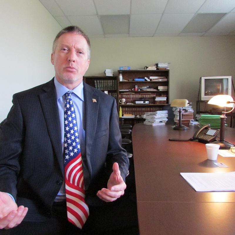 Tuscola County Prosecutor Mark Reene