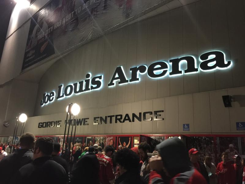 Joe Louis Arena during its final season