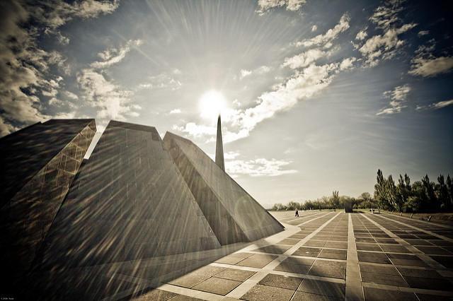 Dzidzernagapert, Armenian genocide memorial in Armenia.