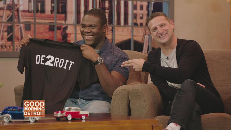 "Sam Richardson (left) and Tim Robinson, the creators and stars of the Comedy Central show ""Detroiters"""