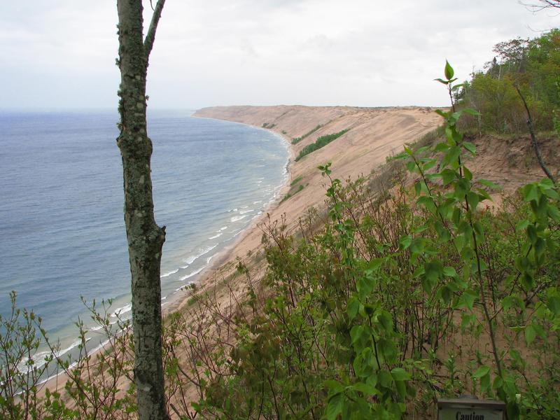 Pictured Rocks National Lakeshore near the overlook