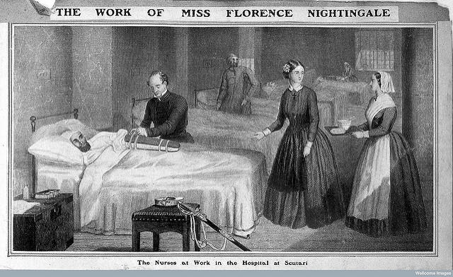Nightingale established the first secular school for nurses.