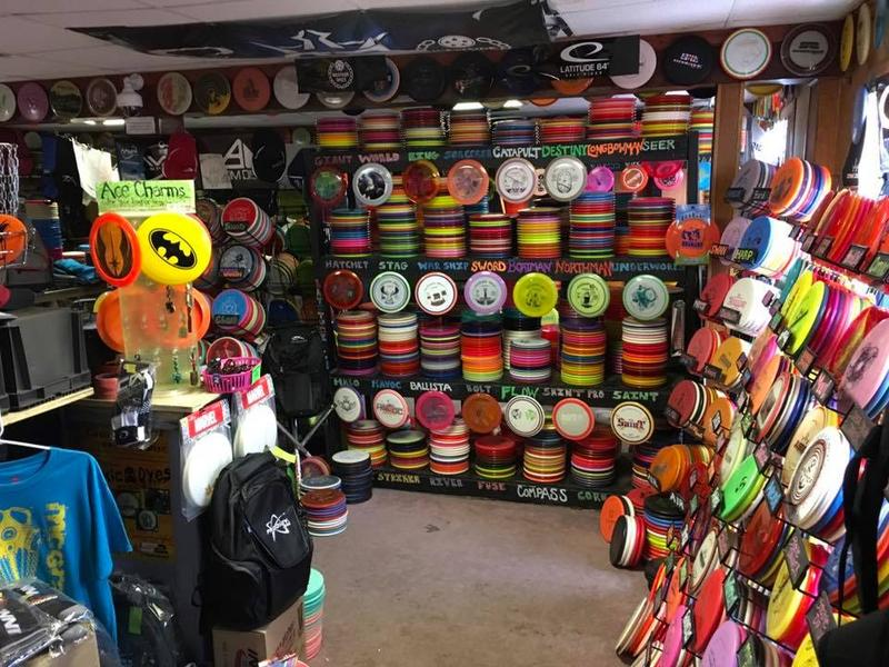 A store full of discs.