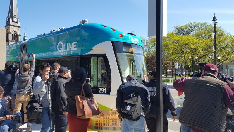 The Detroit Q-Line streetcar