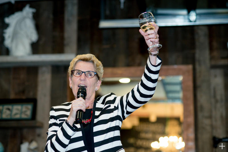 The head of Ontario's Liberal government, Premier Kathleen Wynne, wants to change labor laws to help part-time and contract Ontario workers make more money.