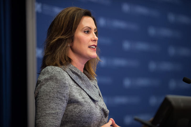 profile shot of Gretchen Whitmer