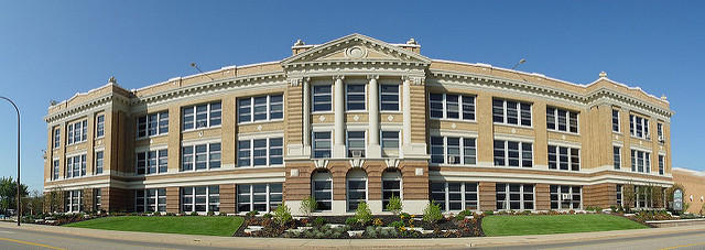 Battle Creek Central High School Building