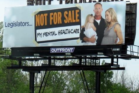 No one knows who created the billboards or who is funding them, but mental health advocates are happy to see them along I-75.